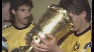 DFB-Pokalfinale 1989 - Borussia Dortmund - Werder Bremen - Als Norbert Dickel zur Legende wurde