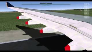 X Plane 10 Singapore Airlines Take-off from YSSY(Sydney Intl)