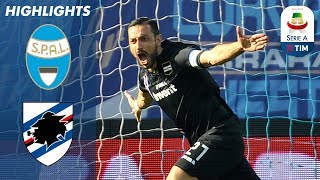 Spal 1-2 Sampdoria | Quagliarella Brace Gives Sampdoria the Win | Serie A