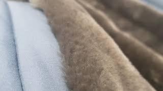 로로피아나 양가죽 양털 점퍼 자켓 세탁케어
