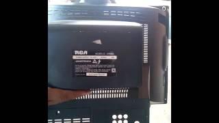 Como reparar un tv RCA falla vertical