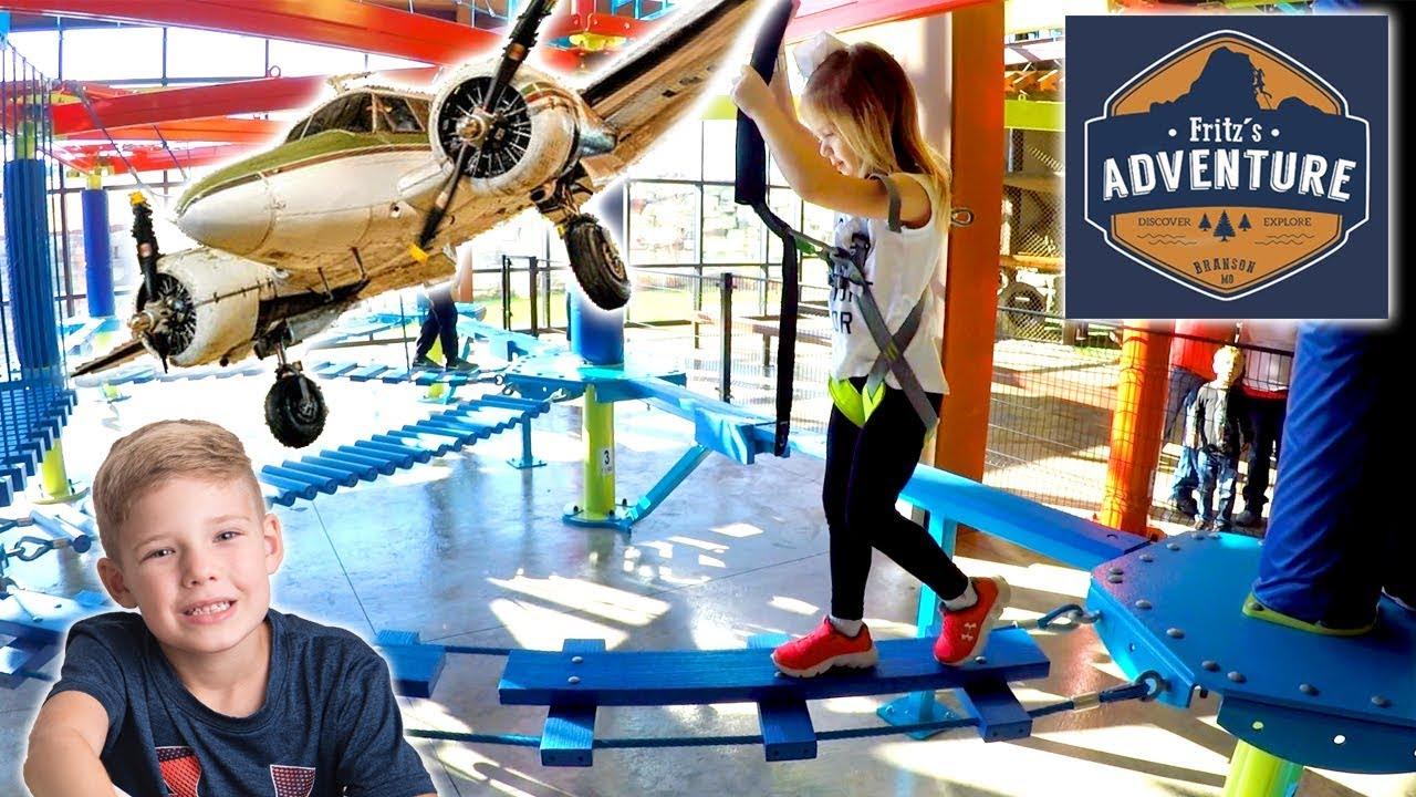 Fritz S Adventure Branson Mo Indoor Adventure Park