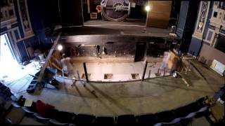 Baldwin Theatre Orchestra Pit Renovation