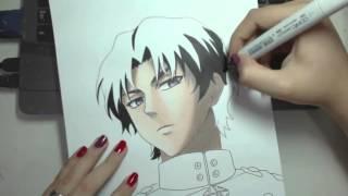 Speed Drawing - Ichinose Guren (Owari no Seraph)
