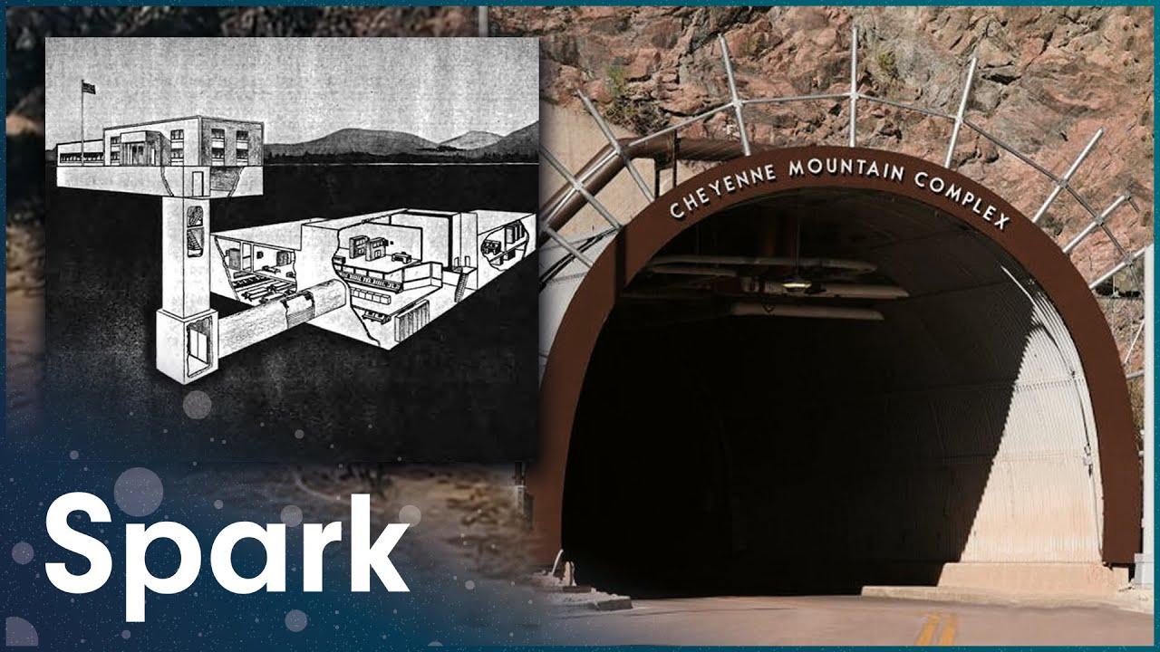 The Defence Center That's Hidden Underground | Super Structures | Spark