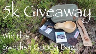 5000 Subscriber GAW (NOW CLOSED). Win This Swedish Goody Bag!