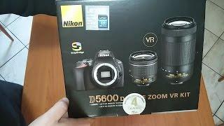Video Unboxing Nikon D5600 Kit Ufficiale NITAL 18-55 +70-300 + 8GB SDHC 45MB/S  🌟🌟🌟🌟🌟 download MP3, 3GP, MP4, WEBM, AVI, FLV November 2018