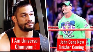John Cena 'New Finisher' Date REVEALED ! Roman Reigns Bold Statement WWE Raw 6 August 2018 Highlight