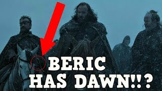 Huge Easter EGG Dawn! Game of Thrones Season 7 Episode 1 The Sword of the morning