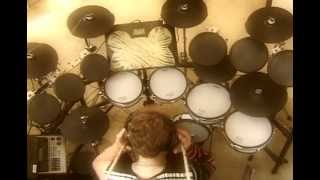 "Black Sabbath Drum Cover  ""Cross Of Thorns"" Drum Cover ""Cross Purposes CD"""