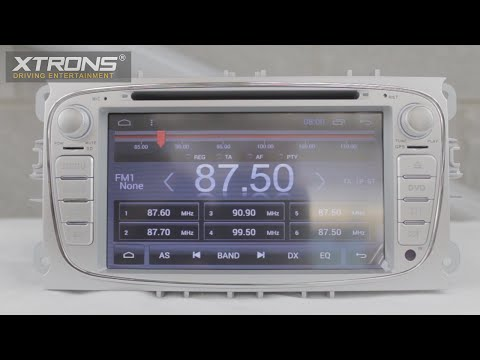 Xtrons PC71FSFA-S | Android 4.4 Driving Entertainment System