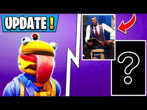 *NEW* Fortnite Update! | Today's Changes, 2 Secret Skins, Durr Burger Event!