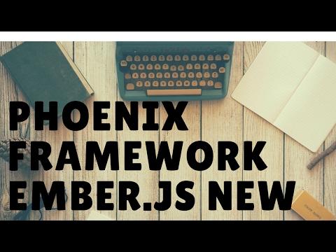 Learn the Phoenix Framework Add a Post Ember.js Part 4