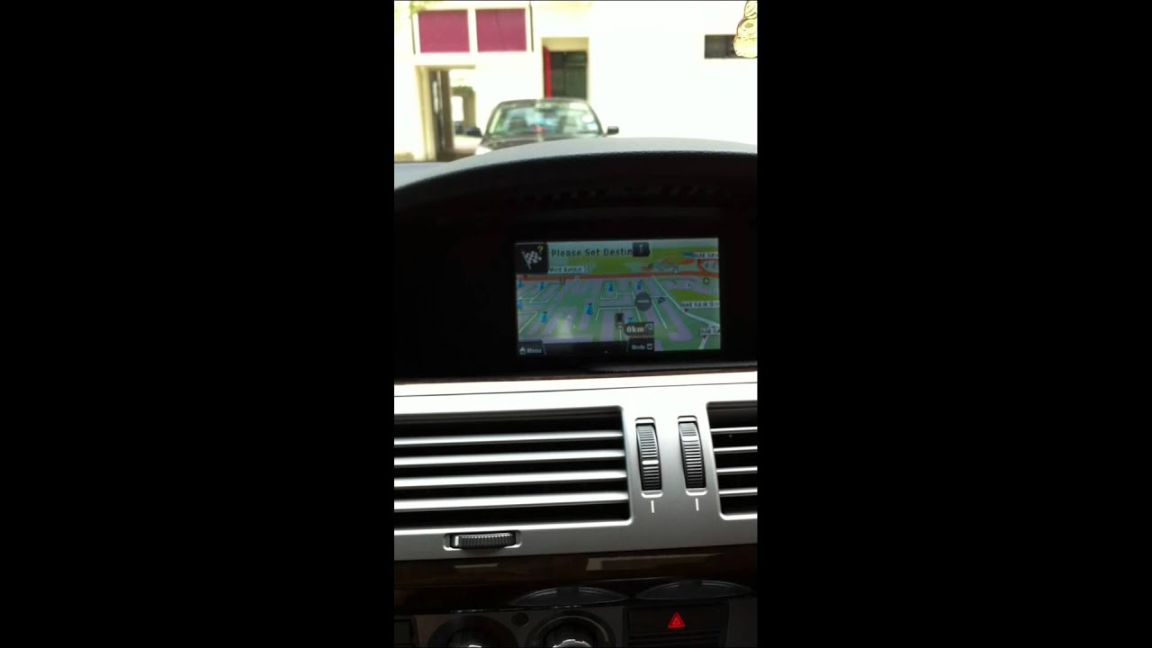 Bmw 7 Series E65 E66 730i Original Screen Update Gps Navigation Dvd Reverse Camera Youtube