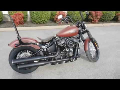 2018 fxbb street bob softail stk 015875 youtube. Black Bedroom Furniture Sets. Home Design Ideas