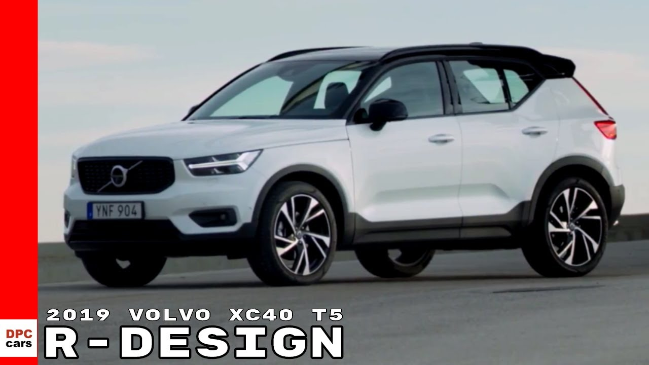 2019 volvo xc40 t5 r-design crystal white