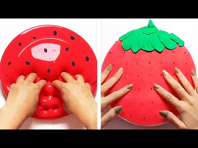 Oddly Satisfying Slime ASMR No Music Videos | Relaxing Slime 2020 | 9