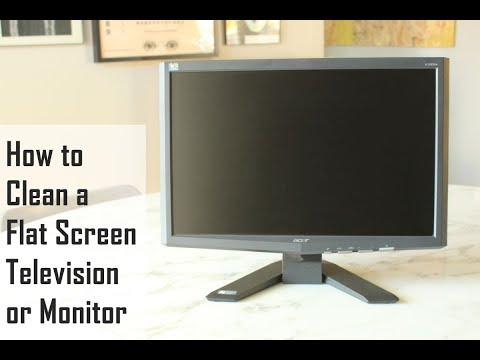 How to Clean a Flat Screen TV