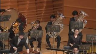 Will Sanders conducting Ballet Sacra of David R. Holsinger in Tokyo