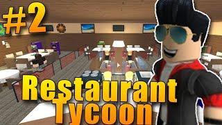 ¡BEBIDAS Y MEJORAS EN LOS RESTAURANTES! ROBLOX: Restaurante Tycoon #2