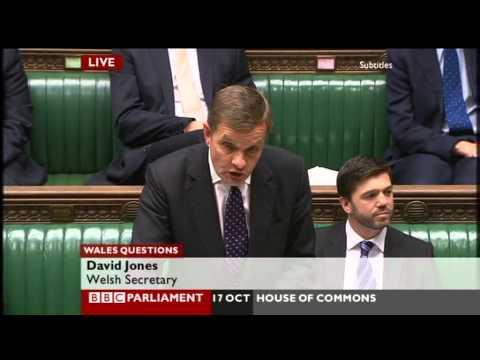 Live Wales Questions   BBC Parliament   2012 10 17