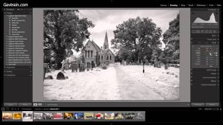 InfraRed Mono - Creative Lightroom Episode 9