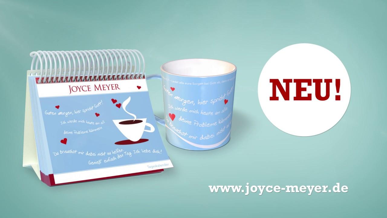 Das Joyce Meyer Guten Morgen Hier Spricht Gott Set Mit Andachtskalender Und Tasse