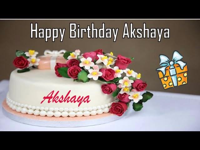 Happy Birthday Akshaya Image Wishes?
