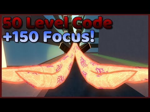 Ro-Ghoul New Codes! 50 Levels & 150 Focus (Roblox)