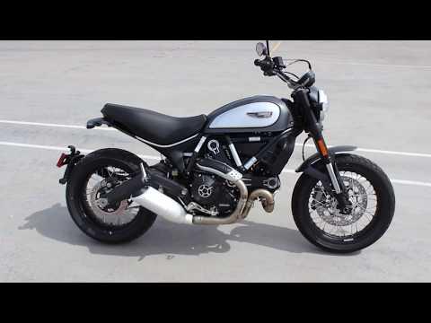 2018 Ducati Scrambler Street Classic