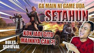 SETAHUN UDA GA MAIN NI GAME !! - Rules of Survival PC Indonesia