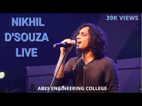 Download Lagu  Live Concert With Nikhil D'Souza || Genero'17 || ABESEC || Dhwani Bhanushali Mp3 Free