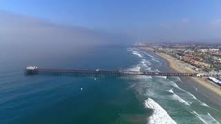 the Supergirl Pro Surf Contest at Oceanside Pier