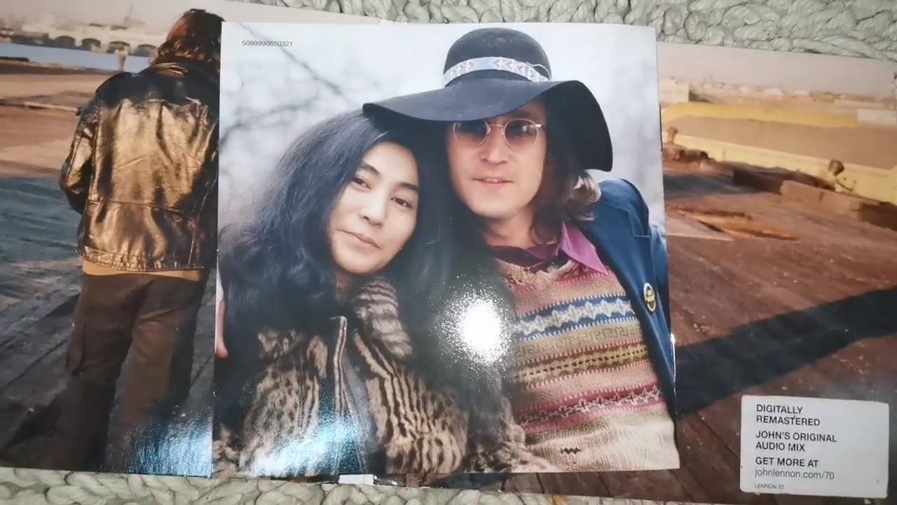 John Lennon Mind Games Album Cd Unboxing Youtube