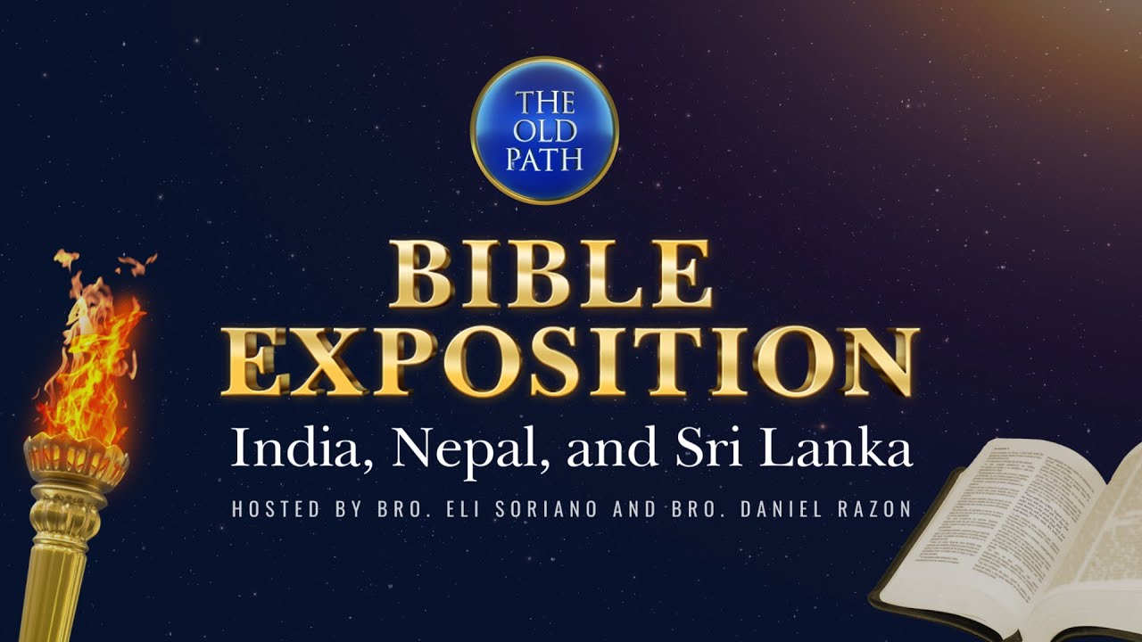 WATCH: India, Nepal and Sri Lanka Bible Exposition | February 28, 2021 at 9:30 PM PHT