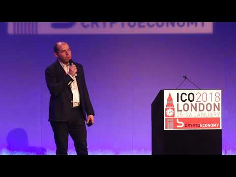 SKYFchain Pitch Crypto Economy World Tour 2018 - London