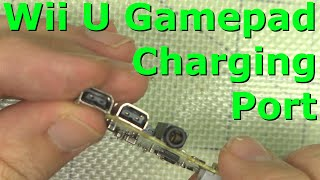 Replace Wii U Gamepad Charging Port How-to Demonstration