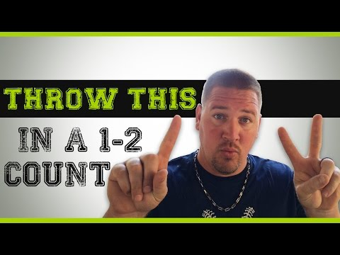 Baseball Pitching - What to throw in a 1-2 count (after a 1-1)
