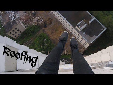 Заброшенные крыши | GoPro Roofing Stalk | Кузнечики Подольск
