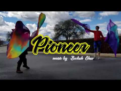 Worship Flags Dance  Pioneer music by Beckah Shae  Ft Claire CALLED TO FLAG