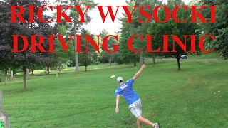 disc golf ricky wysocki driving clinic 6 18 2015
