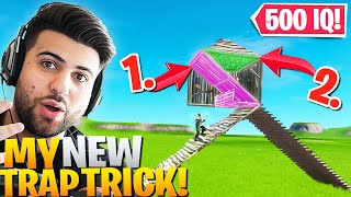 My *NEW* GENIUS Trap Trick That Enemies Will NEVER Expect! (Fortnite Battle Royale)