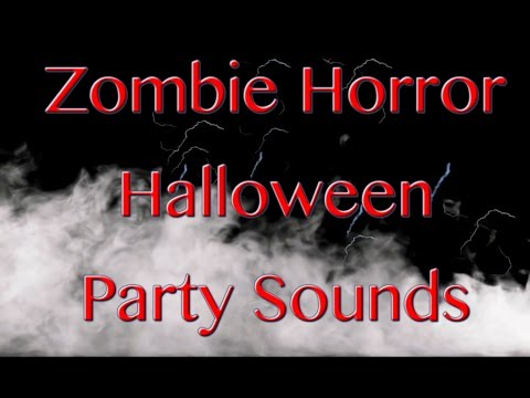 Zombie Sounds for 8 Hours | Halloween Sounds of Horror | Scary Sounds | Haunted House Sounds
