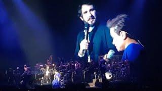 All I Ask Of You from Phantom by Josh Groban and Lea Salonga Bridges Tour Manila! Lea on wheelchair!
