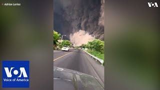 Brave Guatemalans drive toward ash cloud to help people after Fuego volcano eruption