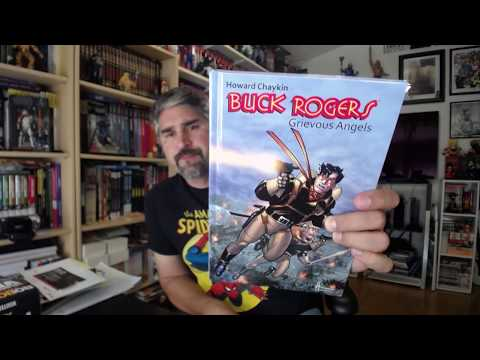 Buck rogers: Grievous Angels (Hermes Press) 2014 TPB review: Hablando Comic episodio 93