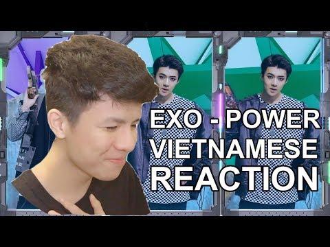 LẦN ĐẦU XEM EXO - POWER (VIETNAMESE REACTION)