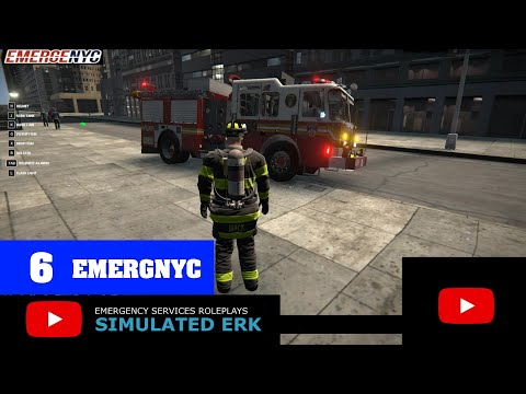 Simulated Erk: EmergNYC - Loading Dock Academy Fire (episode 6)