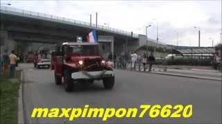 Déballage anciens véhicules de Sapeurs Pompiers & Militaires de France