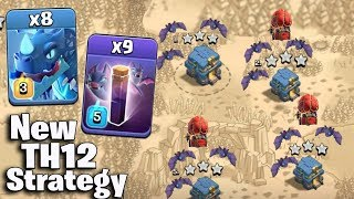 TH12 WAR ATTACK STRATEGY